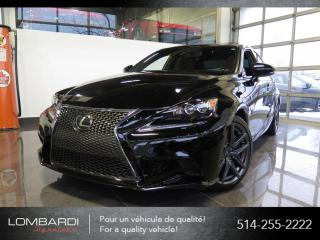 Used 2016 Lexus IS 350 F SPORT3|CUIR ROUGE|NAVI|RARE| for sale in Montréal, QC