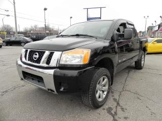 Used 2011 Nissan Titan S 4X4 CREW CAB for sale in Windsor, ON