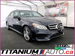 Used 2015 Mercedes-Benz E-Class AMG PKG.-Pano Roof-4Matic-GPS-360Camera-Blind Spot for sale in London, ON
