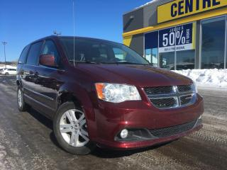 Used 2017 Dodge Grand Caravan Crew Stow 'N Go for sale in Lévis, QC