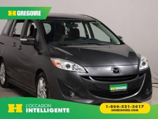 Used 2017 Mazda MAZDA5 GT A/C CUIR TOIT for sale in St-Léonard, QC