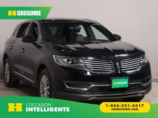 Used 2016 Lincoln MKX SELECT AWD CUIR NAV for sale in St-Léonard, QC