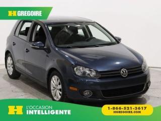 Used 2012 Volkswagen Golf COMFORTLINE TDI for sale in St-Léonard, QC