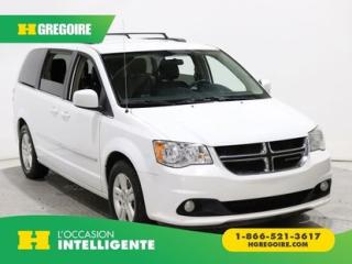 Used 2017 Dodge Grand Caravan Crew Plus Stow&go for sale in St-Léonard, QC
