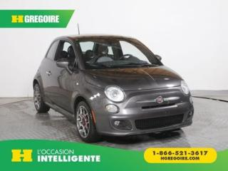 Used 2014 Fiat 500 SPORT CUIR GR for sale in St-Léonard, QC