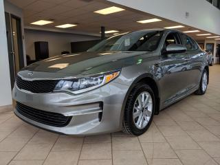 Used 2018 Kia Optima LX Mags Bluetooth Air climatisé for sale in Pointe-Aux-Trembles, QC