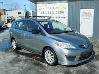 Used 2010 Mazda MAZDA5 ***AUTOMATIQUE,AIR CLIM,VITRE ELECTRIQUE for sale in Longueuil, QC