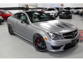 Used 2015 Mercedes-Benz C-Class C63 AMG COUPE   507 EDITION for sale in Vaughan, ON
