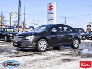 Used 2014 Chevrolet Cruze 1LS for sale in Barrie, ON