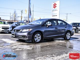 Used 2015 Honda Civic LX ~Heated Seats for sale in Barrie, ON