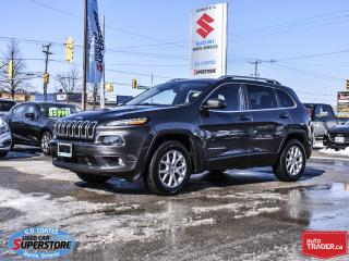 Used 2014 Jeep Cherokee North 4x4 ~Heated Seats + Wheel ~Remote Start for sale in Barrie, ON