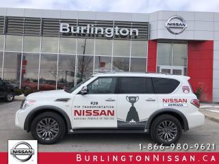 Used 2018 Nissan Armada Platinum for sale in Burlington, ON