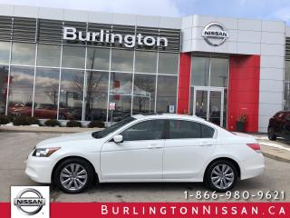 Used 2012 Honda Accord Sedan EX-L, ACCIDENT FREE, 26,000 KMS !, 1 OWNER ! for sale in Burlington, ON