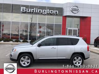 Used 2012 Jeep Compass Sport, ACCIDENT FREE & ONLY 72,000 KM'S ! for sale in Burlington, ON
