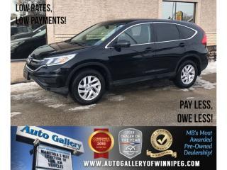 Used 2015 Honda CR-V SE *AWD/Htd Seats/Bluetooth/Backup Cam for sale in Winnipeg, MB