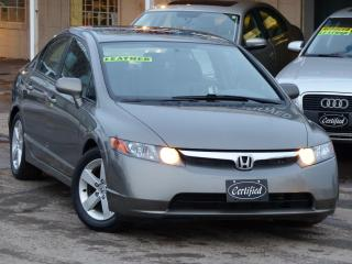 Used 2008 Honda Civic EX-L, NO-ACCIDENTS, LEATHER, SUNROOF, FULLY LOADED for sale in Mississauga, ON