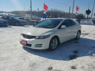 Used 2010 Honda Civic Cpe LX for sale in Barrie, ON