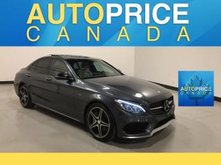 Used 2016 Mercedes-Benz C-Class AMG PKG|NAVIGATION|PANROOF for sale in Mississauga, ON