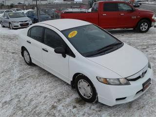 Used 2009 Honda Civic Sdn DX-G for sale in Oak Bluff, MB