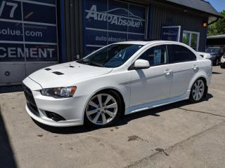 Used 2014 Mitsubishi Lancer RalliArt for sale in Boisbriand, QC