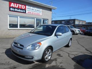 Used 2011 Hyundai Accent SPORT/TOIT/MAGS for sale in St-Hubert, QC