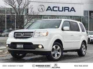 Used 2015 Honda Pilot EX-L RES 4WD 5AT for sale in Markham, ON