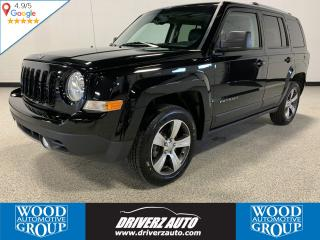 Used 2016 Jeep Patriot Sport/North LEATHER,SUNROOF,CLEAN CARFAX. for sale in Calgary, AB