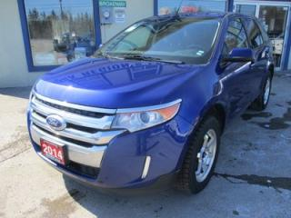Used 2014 Ford Edge GREAT VALUE SEL MODEL 5 PASSENGER 3.5L - V6.. HEATED SEATS.. NAVIGATION.. BACK-UP CAMERA.. BLUETOOTH SYSTEM.. for sale in Bradford, ON