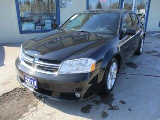 Used 2014 Dodge Avenger FUEL EFFICIENT SXT MODEL 5 PASSENGER 2.4L - DOHC.. HEATED SEATS.. TOUCH SCREEN.. BLUETOOTH.. POWER SUNROOF.. for sale in Bradford, ON