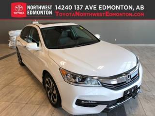 Used 2016 Honda Accord Sedan EX-L | Technology | Sunroof | Remote Start | Camer for sale in Edmonton, AB