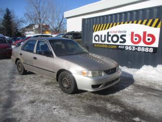 Used 2001 Toyota Corolla 4dr Sdn CE for sale in Laval, QC
