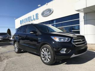 Used 2017 Ford Escape Titanium AWD GPS, TOIT, hitch for sale in St-Eustache, QC