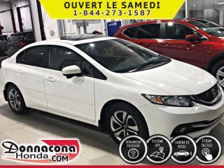 Used 2015 Honda Civic Touring ***PNEUS HIVER SUR ROUES D'ACIER for sale in Donnacona, QC