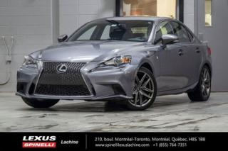 Used 2015 Lexus IS 250 F Sport Ii Awd for sale in Lachine, QC