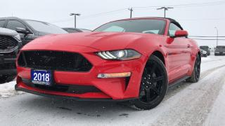 Used 2018 Ford Mustang GT PREMIUM 5.0L V8 LEATHER NAVIGATION HEATED/... for sale in Midland, ON