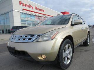 Used 2003 Nissan Murano SL, NO ACCIDENT! for sale in Brampton, ON