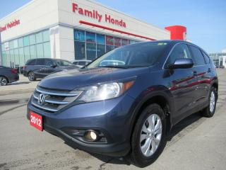 Used 2012 Honda CR-V EX-L AWD, SAFETY CERTIFIED! for sale in Brampton, ON
