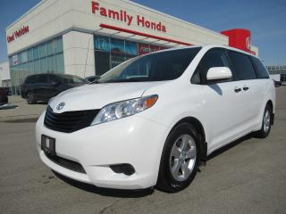 Used 2014 Toyota Sienna 7 Passenger, SAFETY CERTIFIED! for sale in Brampton, ON