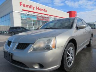 Used 2004 Mitsubishi Galant ES, 2 SETS OF TIRES! for sale in Brampton, ON