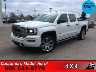 Used 2017 GMC Sierra 1500 Denali  ULTIMATE-PKG NEW-TIRES PWR-BOARDS 22
