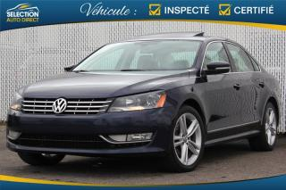 Used 2015 Volkswagen Passat 2.0 HIGHLINE TDI for sale in Ste-Rose, QC