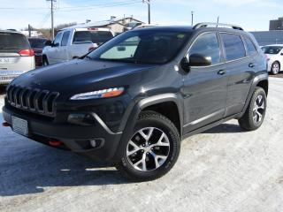 Used 2016 Jeep Cherokee Trailhawk for sale in Brandon, MB