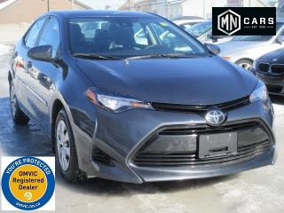 Used 2017 Toyota Corolla CE for sale in Ottawa, ON