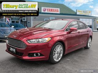 Used 2016 Ford Fusion SE for sale in Tilbury, ON