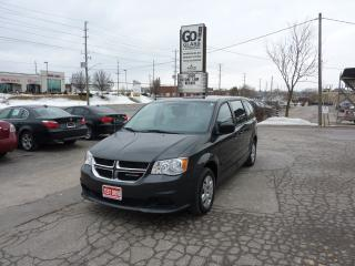 Used 2012 Dodge Grand Caravan SE,ONE OWNER,LOW MILEAGE for sale in Kitchener, ON