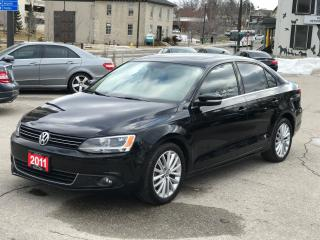 Used 2011 Volkswagen Jetta Highline|SIESEL|ONE OWNER\NO ACCIDENT for sale in Cambridge, ON