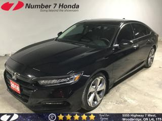 Used 2018 Honda Accord Touring|Loaded, Leather, Navi, Backup Cam! for sale in Woodbridge, ON