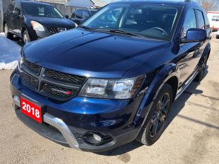 Used 2018 Dodge Journey Crossroad for sale in Hamilton, ON