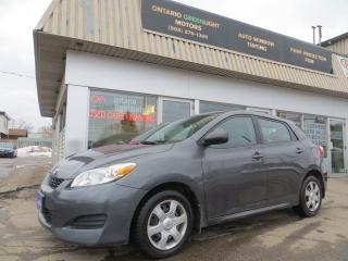 Used 2010 Toyota Matrix AUTOMATIC,ALL POWERED,A/C for sale in Mississauga, ON