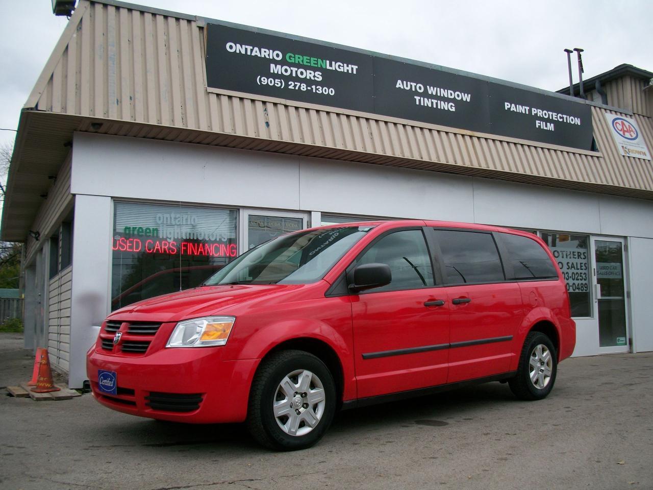 Photo of Red 2009 Dodge Grand Caravan